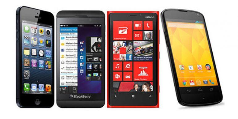 Android Mematahkan Dominasi Apple, BB, dan Nokia