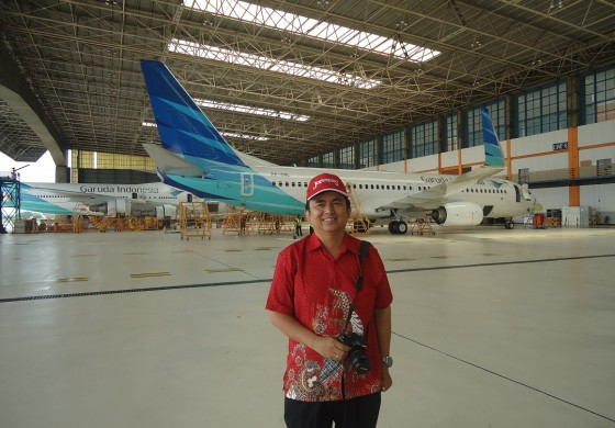 Aviation Educational Trip With Garuda