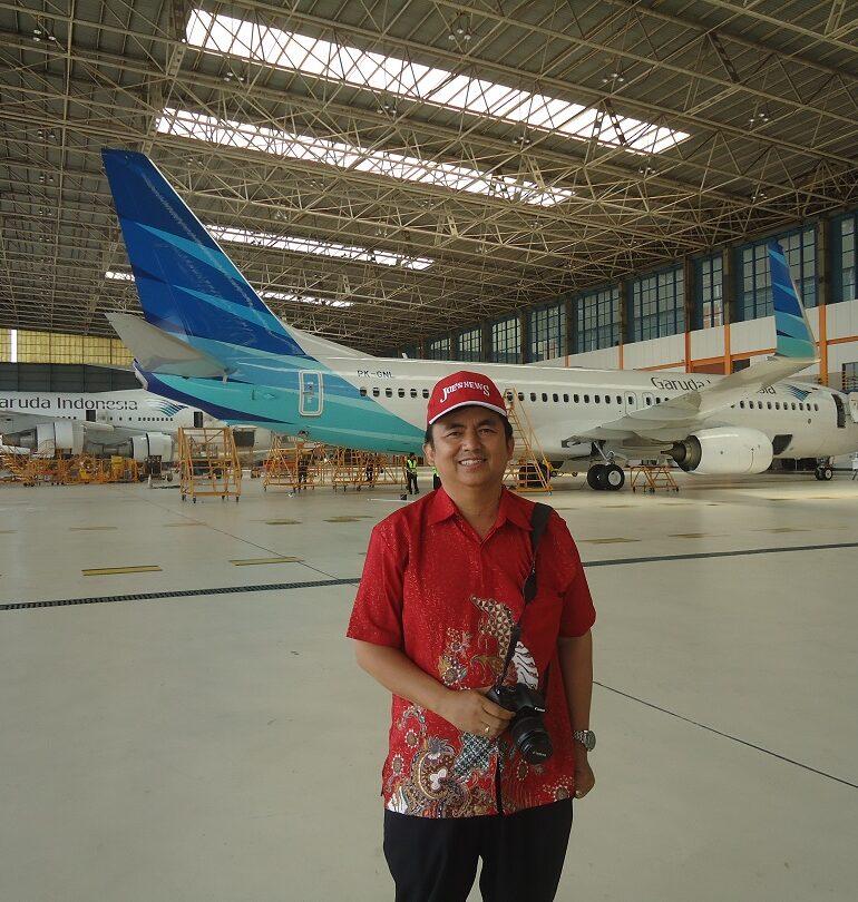 Aviation Educational Trip With Garuda