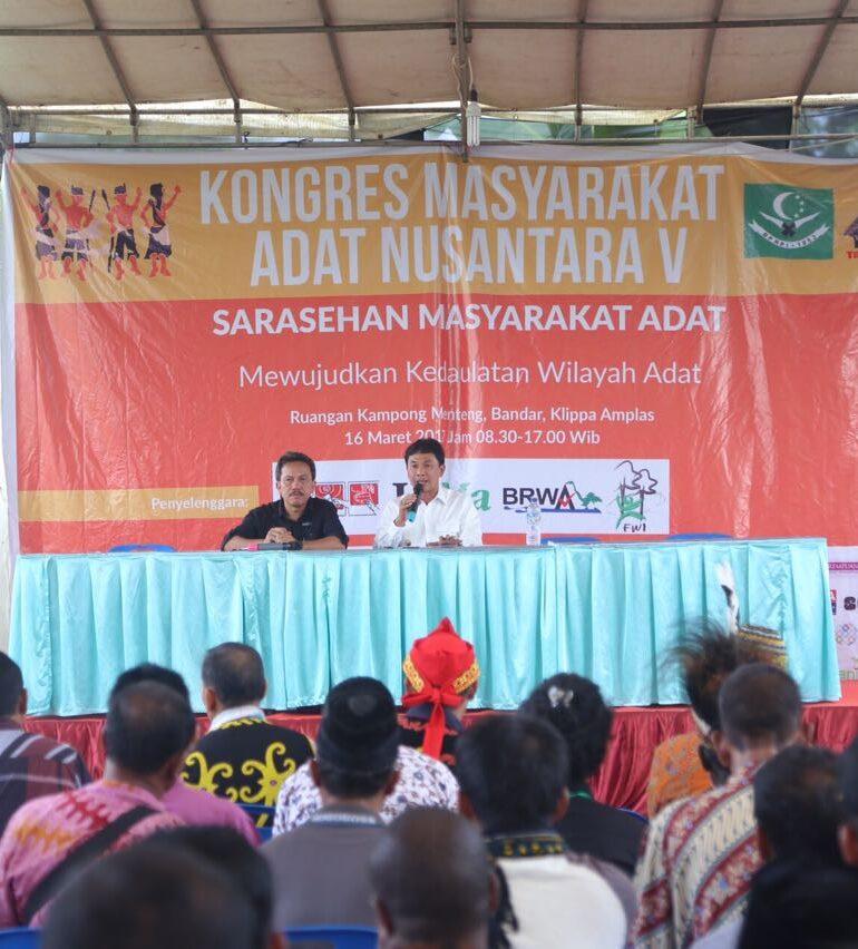 Bupati Sigi Hadiri Kongres Masyarakat Adat Nusantara di Sumatra Utara