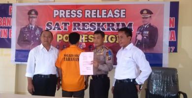 Dugaan Korupsi ADD Desa Lawe Masuk Tahap 2 penyerahan Berkas dan Babuk ke Kejaksaan Donggala