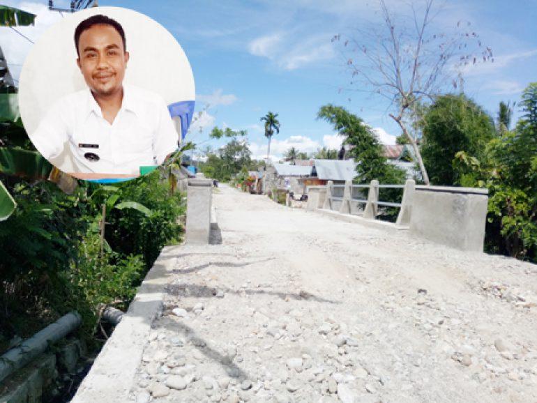 Kades Kamarora B, Genjot Pembangunan Melalui Dana Desa