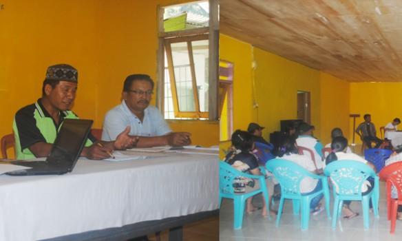 Pemdes dan BPD Ampera Bahas Peraturan Desa