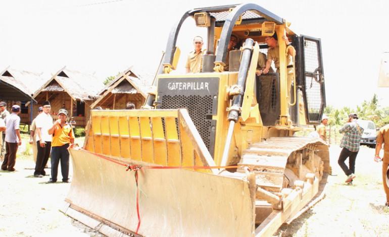 Groundbreaking Pembangunan Jalan Lingkar Pakuli- Simoro Dilakukan