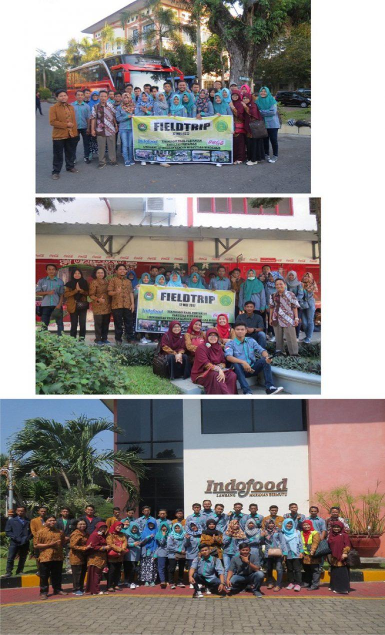 MAHASISWA THP UNIVET FIELDTRIP INDUSTRI PANGAN