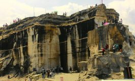 Taman Tebing Breksi dari Endapan Abu Vulkanik
