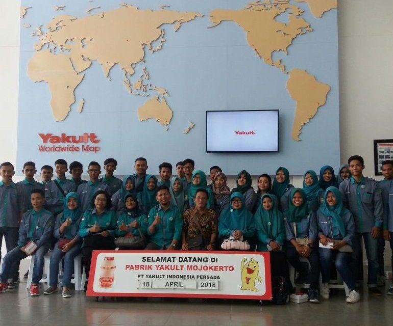 Kunjungan Prodi THP Universitas Bangun Nusantara Sukoharjo ke  PT. Yakult Persada Indonesia