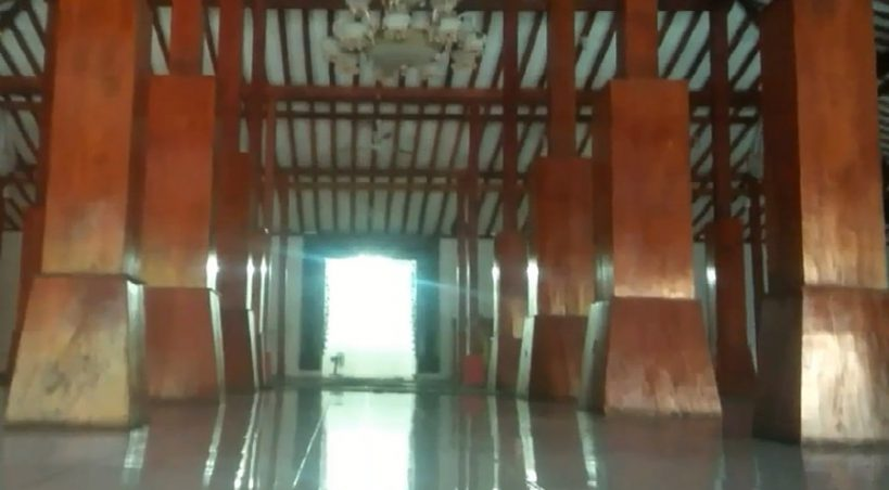 Masjid Sahid Al Islam Memiliki Aksitektur Jawa Kartasura Kabupaten Sukoharjo