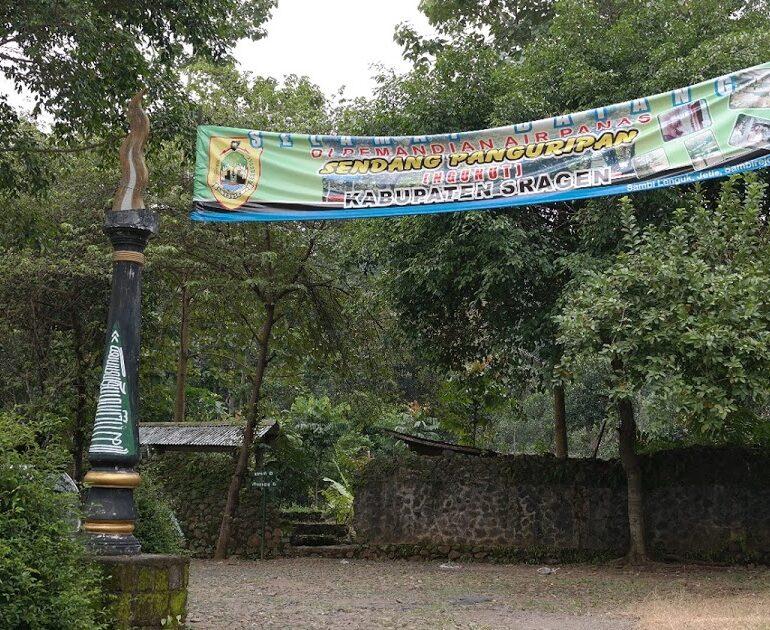 Sendang Panguripan Sragen, Pemandian Air Panas Peninggalan Kerajaan Mataram Kuno