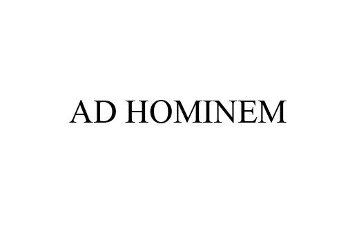 AD HOMINEM DI MEDIA SIBER, BAIKKAH?