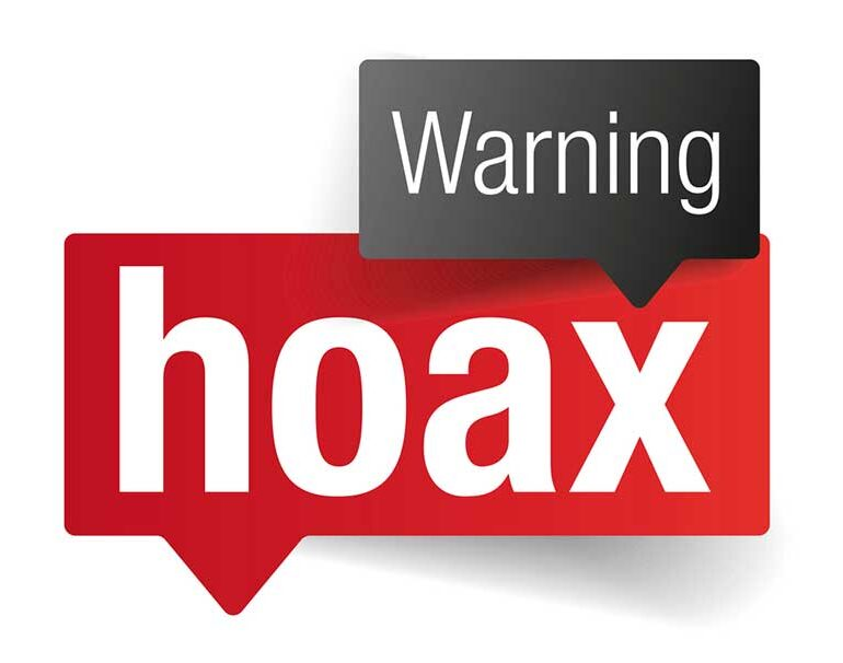 warning hoax!