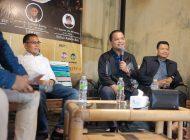 Dua Jam Bersama Talk Show Ngopi, Ajak Generasi Millenial Melek Politik, Hukum, dan Ekonomi