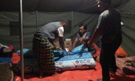 Rumah Warga Miskin Di Lalap Si Jago Merah, Komunitas KNB Berikan Uluran Tangan