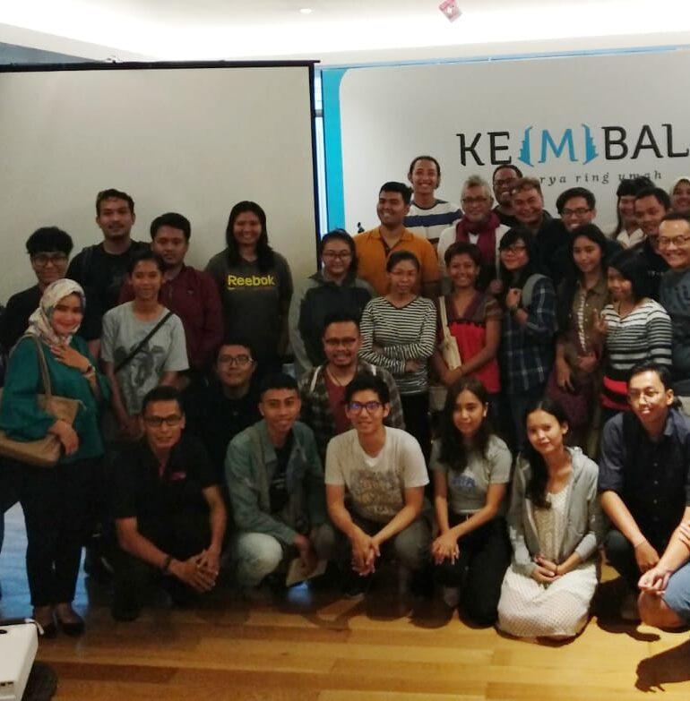Erwin Arnada Bagi Tips Membuat Film Berkelas, Akber Bali 84 Diserbu Millenial