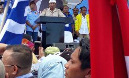 Capres Prabowo Sapa Warga Bali,  Komitmen Berantas Korupsi dengan Taruhan Nyawa