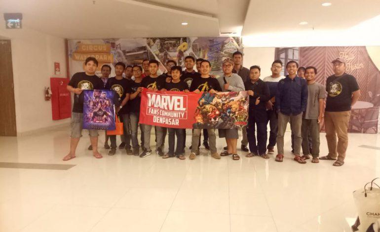 Komunitas MFC Bali Ajak Millenial Nobar Avengers : End Game