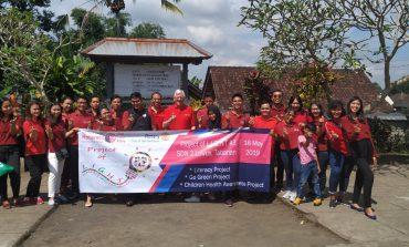 Komunitas Rotaract Club of Bali Seminyak Pengabdian Masyarakat Di SDN 2 Luwus