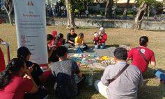 2 Komunitas ini Rayakan Hari Buku Nasional di CFD Renon Denpasar