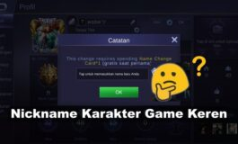 1500 Nickname Game Keren Terbaru 2020 Paling Lengkap!