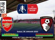 Prediksi Skor Arsenal Vs Bournemouth Di laga FA Cup