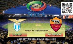 Prediksi Skor Lazio vs As Roma  Di Pekan ke-21 Serie A 2019/2020