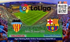 Prediksi Skor Valencia vs Barcelona Sabtu, 25 Januari 2020 di laga LALiga