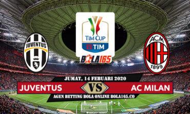 Prediksi Skor Juventus vs AC Milan Di Laga Coppa Italia pada hari Jumat, 14 Febuari 2020