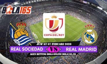 Prediksi Skor Real Sociedad Vs Real Madrid Copa del Rey 2019/2020