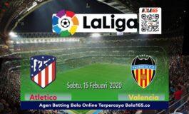 Prediksi Skor Antara Valencia vs Atletico Madrid, di Laga Laliga
