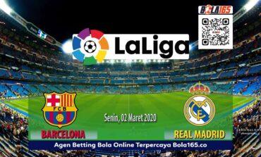 Prediksi Skor Laga LaLiga Barcelona Vs Real Madrid