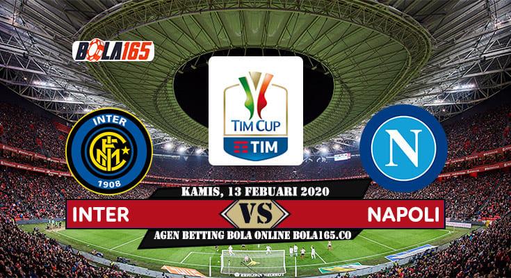Prediksi Skor Inter vs Napoli di laga Coppa Italia