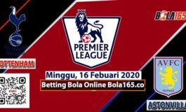 Prediksi Skor Tottenham Vs Aston Villa Di Laga EPL (Premier League)