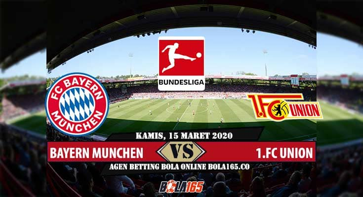Prediksi Skor FC Union Vs BayernMunchen Di Liga German