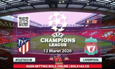 Prediksi Skor Atletico Madrid Vs Liverpool Di Liga UEFA Champions League