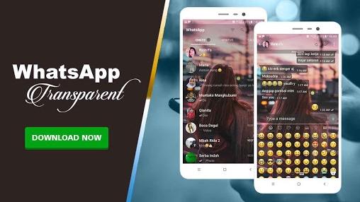 Download WhatsApp MOD Transparan APK Versi Terbaru