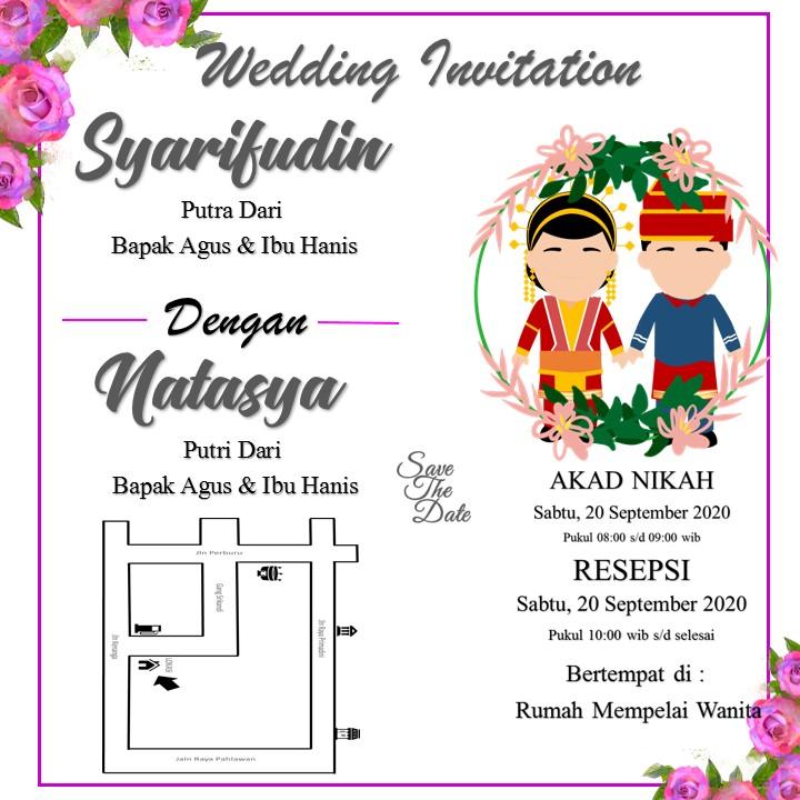Tips Memilih Undangan Acara Pernikahan