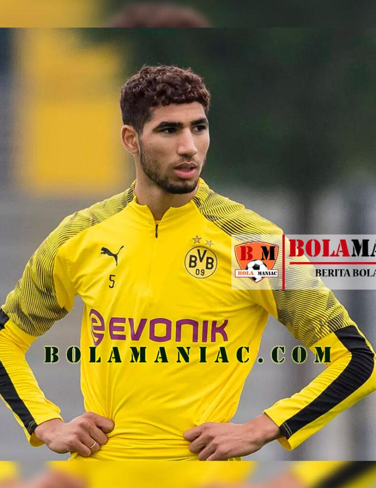 Borussia Dortmund Bicarakan Perpanjang Pinjaman Hakimi