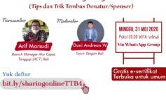 Arif Marsudi Berikan Tips & Trik Cara Tembus Mendapatkan Donatur