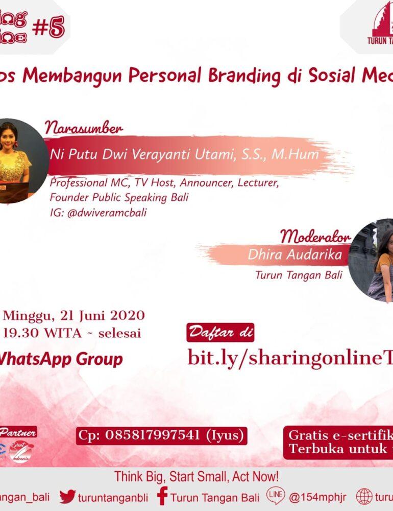 Praktisi Public Speaking Bali Ungkap Tips Membangun Personal Branding di Sosial Media