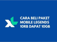 Paket Mobile Legends 10GB XL Hanya 10 Ribu