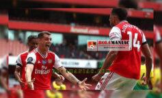 Aubameyang Mencetak Gol Ke-50nya Di Liga Premier